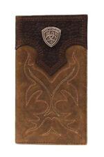 Ariat Men's Brown Boot Stitch Rodeo Wallet