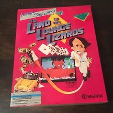 Leisure Suit Larry: Land of the Lounge Lizards *Sierra* IBM PC Big Box