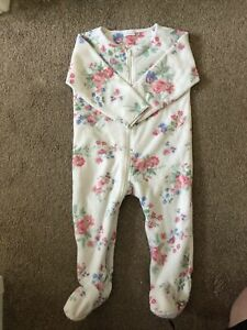 baby girl fleece sleepsuit 12-18 Months