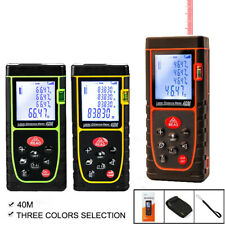 Handheld Digital Laser Distance Meter Finder Measure Tape Range Finder Tool 40m