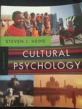 Cultural Psychology 2nd Edition by Heine