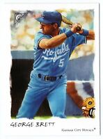 2002 Topps Gallery #192 George Brett Kansas City Royals