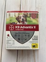 K9 Advantix II Flea Tick Medicine Large Size Dog 4 Month Supply K-9 21-55 lbs