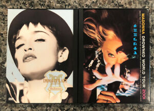 Madonna: Drowned World Tour 2001 & The Immaculate Collection DVD s