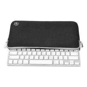 Black Keyboard Sleeve Case Bag Carrying Pouch Cover Bag for Apple