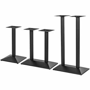 """Tischgestell schwarz """"München"""" Tischbeine Tischfuß Tischuntergestell Tisch Legs"""