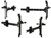 "New Avalon Archery Classic Recurve Sight Micro Adjustable Aluminium Long 9"" R/H"