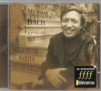 CD ALBUM CLASSIQUE--MURRAY PERAHIA--CONCERTOS N° 1-2-4 DE BACH