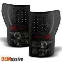 Black Smoked Fits 07-13 Tundra LED Tail Lights Lamps Replacement 2000 2011 2012