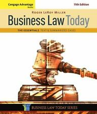Cengage Advantage Books: Business Law Today, the Essentials : Text and Summarize