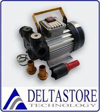 ELETTROPOMPA TRAVASO PER GASOLIO 60 LT/min 550W 220V POMPA - DELTASTORE