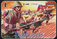 Strelets-R 1/72 M051 Highlanders 1898-1902 Anglo-Boer War (48 Figures, 12 Poses)