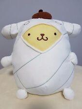 "Sanrio Pompompurin Mummy Cute Plush Stuff Animal 12"" - NWT Japan Pom Pom Purin"
