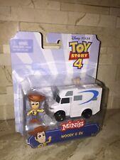 Disneys Toy Story Minis Woody & Rv Figure Set
