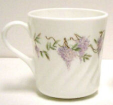 LQQK - Corelle  WISTERIA  Cup Cups Slope Sided  EXCELLENT CONDITION
