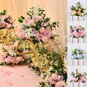 Artificial Peony Ball Flower Row Wedding Arch Stage Window Wall Background Decor