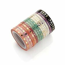 Foil Gold Washi Paper Tape DIY Japanese Masking Tape Supplies
