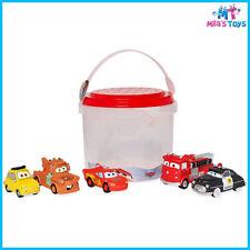 Disney CARS 5 piece Bath Toy Set Lightning McQueen Mater brand new