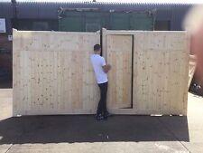 wooden driveway gates 6ft h x 10 ft w  elite extra gate