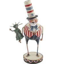 Lori Mitchell Patriotic Pete Statue of Liberty July 4 Americana Folk Art Figure