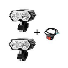 20W Motorcycle ATV Truck Spot Light T6 LED Driving Headlight Fog Lamp + Switch
