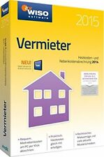 WISO Vermieter 2015 (pc Software)