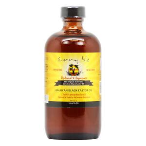 Sunny Isle Jamaican Black Castor Oil, 8oz w/ FREE Nail File