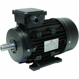 4.0KW  5.5 HP Three (3) Phase Electric Motor 1400 RPM 4 Pole 4KW/5.5HP 400V NEW