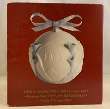Lladro 1999 Christmas Ball Ornament 16637 original box
