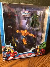 Marvel Heroes Collectible Figurine Set W/Thing & Black Widow