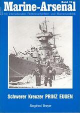 Marine-Arsenal Band 19 - Schwerer Kreuzer PRINZ EUGEN - Siegfried Breyer