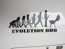 Aufkleber Autoaufkleber Sticker Evolution BBQ, Aukleber Sticker Grill