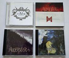 Ulver 5CD:Bergtatt,Kveldssanger,Themes From,Wars Of The Roses, 1st releases