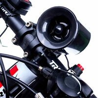 6-sound Bicycle Bike Super-Loud Electronic Siren Horn Bell Ring Alarm Speaker
