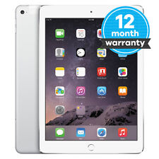 Apple iPad Air 2 64GB, Wi-Fi + 4G (Unlocked), 9.7in - Silver Very Good Condition