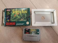 Secret Of Mana Super Nintendo FRA complet
