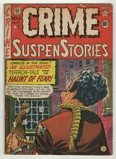 Crime SuspenStories (1950) #6 Craig Hanged Man Cov Jack Kamen Graham Ingels GD+