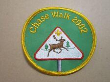 Chase Walk 2002 Cloth Patch Badge Boy Scouts Scouting L5K G