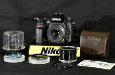Nikon EL-Nikkor 63mm modified, F Mount ready for UV photography