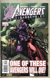 Avengers #502-2004 nm 9.4 Captain America Avengers Disassembled