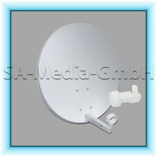 Satanlage Satspiegel MEGASAT 60cm + LNB Twin MAXIMUM 0,1dB HDTV FULL HD 0,1