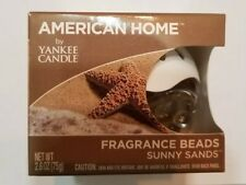 American Home by Yankee Candle Fragrance Beads - Sunny Sands -Brand New Sealed