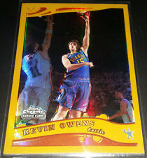 Kevin Owens 2005-06 Topps Chrome GOLD REFRACTOR D-League Rookie Card (#'d 73/99)