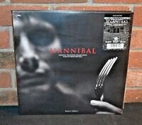 Brian Reitzell Hannibal Season 1 Vol 1 soundtrack ltd black vinyl 2 LP g/f NEW/S
