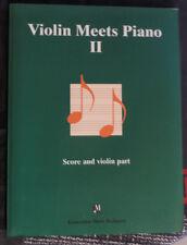 """Partition pour violon et piano, """"Violin meets Piano 2"""""""
