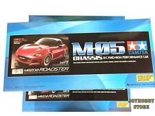 Tamiya 1/10 Mazda MX5 2015 Roadster Miata w/ESC M-Chassis M05 RC Kit #58624 JH