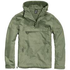 Brandit Men's Between-seasons Jacket Windbreaker Rain Fleece Lining 3001 Olive XL