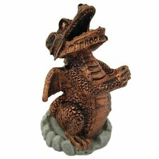Red Copper Coloured Smoking Dragon Incense Cone Burner