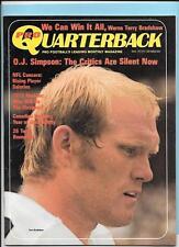Terry Bradshaw Pittsburgh Steelers Sept1973 Pro Quarterback Magazine