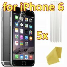 X5 Apple iPhone 6s Clear Plastic Screen Guard LCD Protector